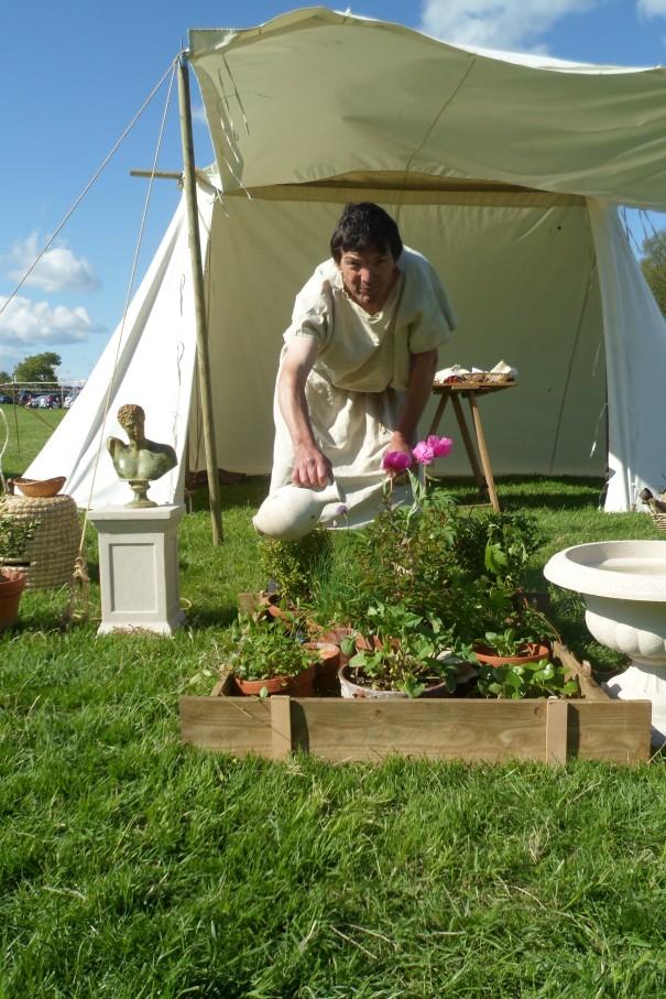 The Historic Gardener at Wallington. May 2013