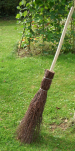 A Besom Broom.
